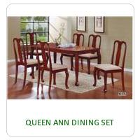 QUEEN ANN DINING SET